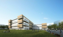 东北大学浑南校区一期景观项目