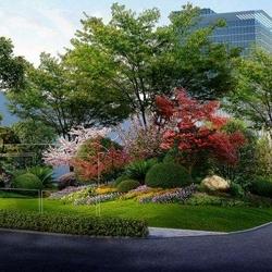 关于大连园林绿化公司浅谈园林设计植物配置