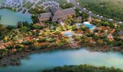 牡丹江镜泊小镇温泉(大连园林绿化  景观设计)